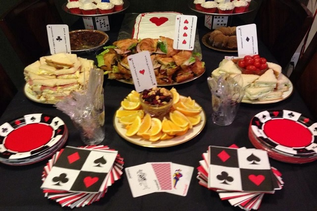 Food Plan for Hosting a Casino Party